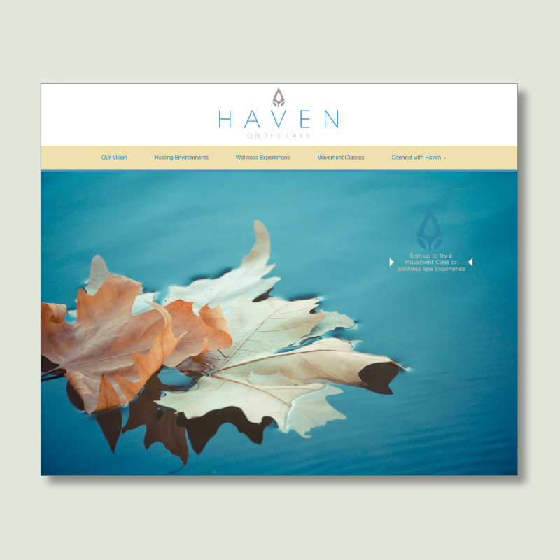 Haven on the Lake Website